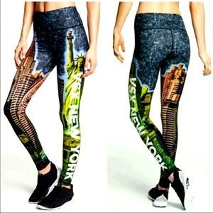 🗽 VSX Limited Edition NEW YORK Knockout Tights S